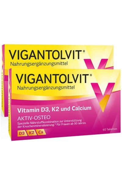 VIGANTOLVIT + K2 + CALCIUM 60 шт