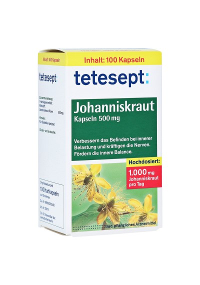 JOHANNISKRAUT TETESEPT 100 шт