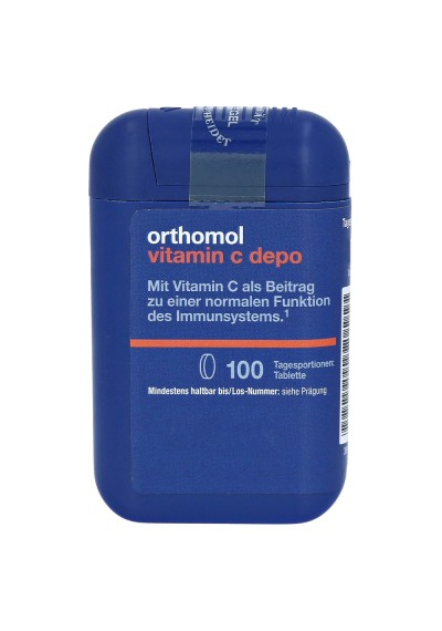 VITAMIN C ORTHOMOL 100шт